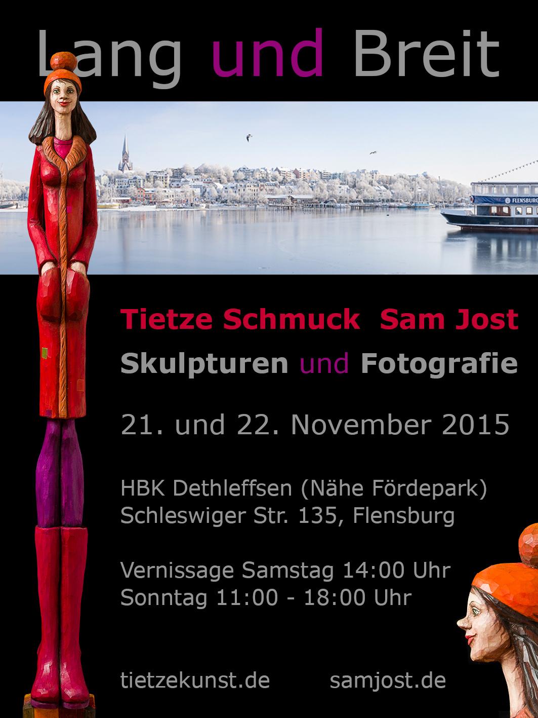 Ausstellung Lang und Breit 21. und 22. November 2015 bei HBK